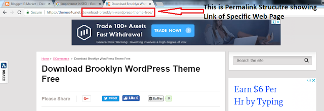 Importance of Permalink Structure in SEO