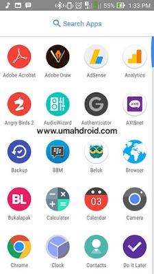Tampilan Smartphone Android Seperti Google Pixel