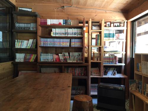 赤岳鉱泉の自炊室