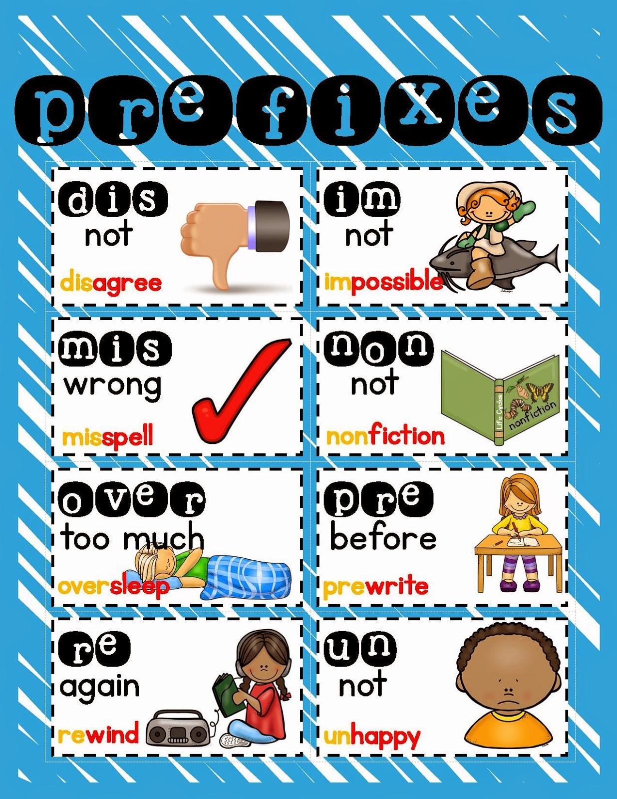 Lory S 2nd Grade Skills Prefix And Suffix Freebie
