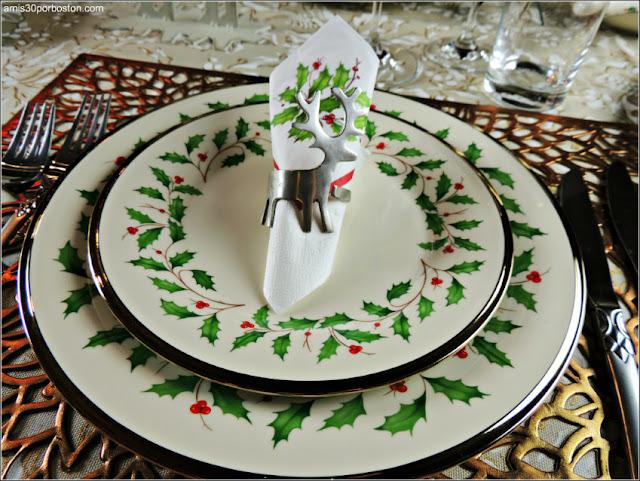 Vajilla para la Cena de Noche Buena y Navidad 2016 en Boston