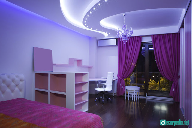 latest false ceiling design, modern false ceiling ideas for bedroom with led lights
