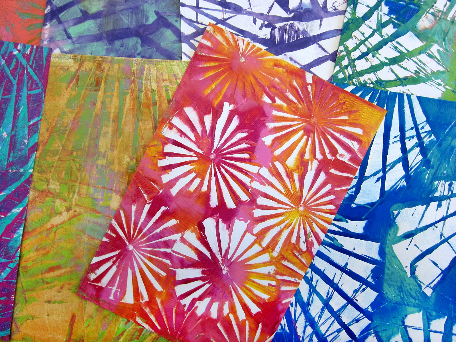 sc 1 st  Printing with Gelli Arts & Printing with Gelli Arts®: Gelli® Printing with Folded Paper!!