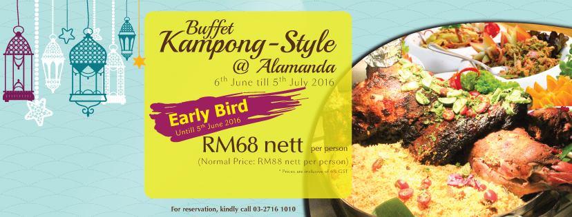 Makan Makan    Food, Food, Food: Buffet Ramadhan 2016