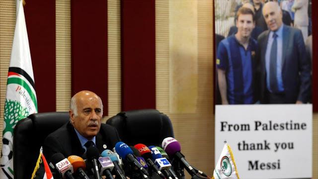 Palestina: Argentina dio tarjeta roja a Israel al anular amistoso