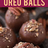 Turtle Oreo Balls Chocolate