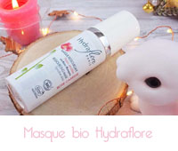 Masque ressourçant Rose caresse Hydraflore