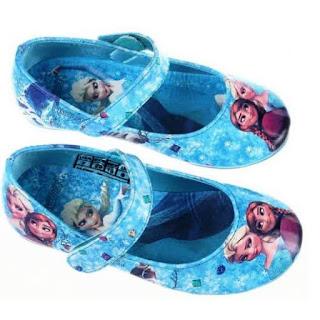 Sepatu Frozen Anak Perempuan