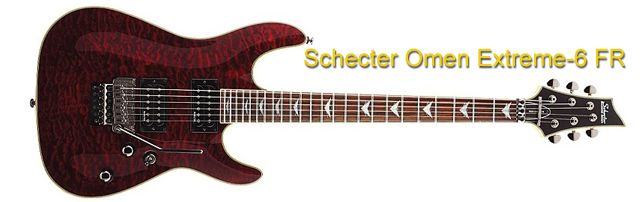 Schecter Omen Extreme-6 FR Superstrato
