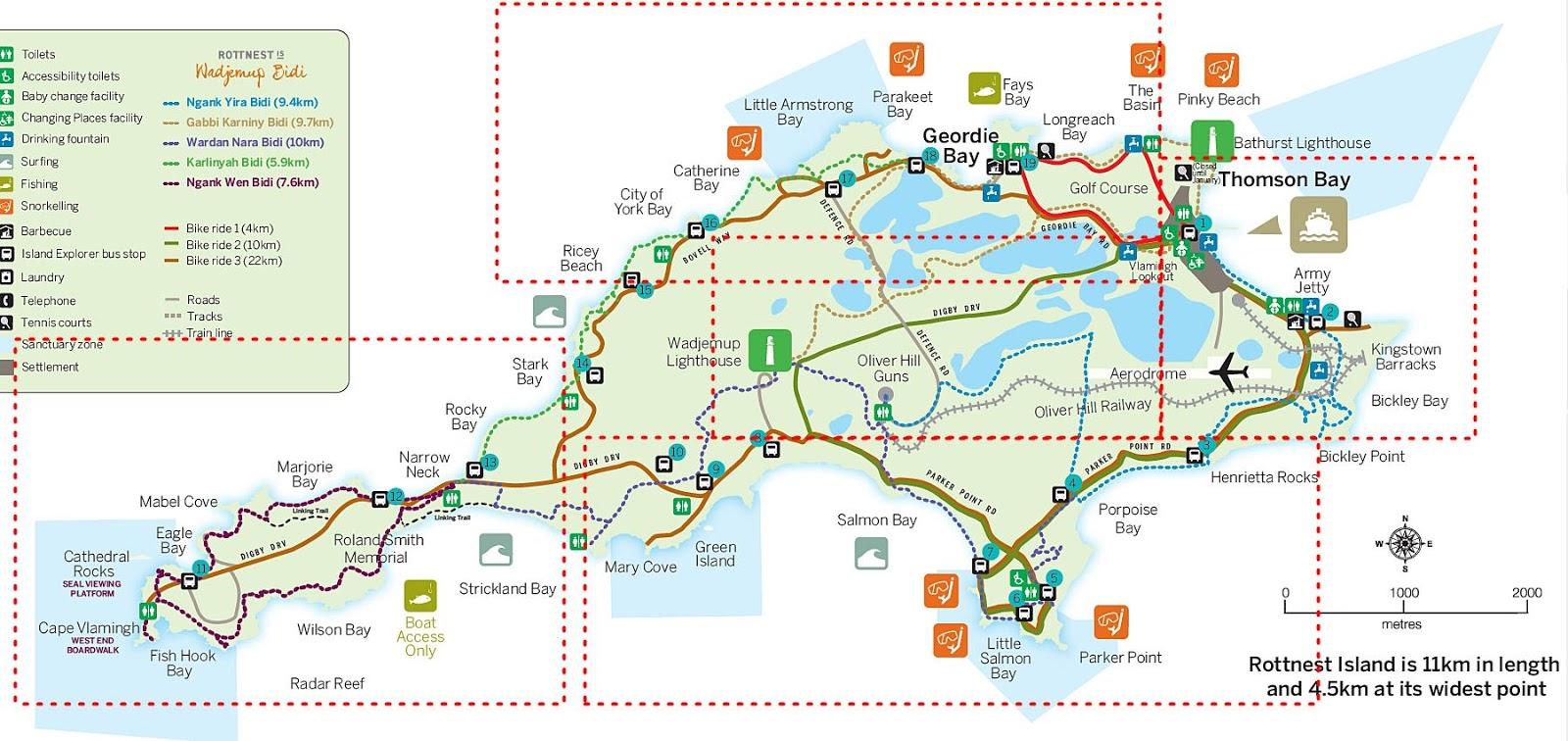澳洲-西澳-伯斯-景點-羅特尼斯島-Rottnest Island-地圖-推薦-自由行-交通-旅遊-遊記-攻略-行程-一日遊-二日遊-必玩-必遊-Perth
