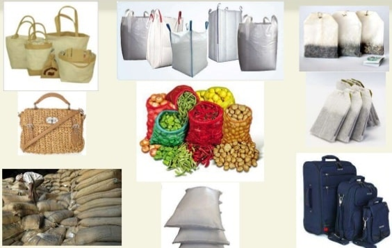 Packaging textiles