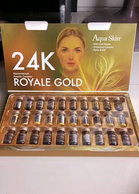 Aqua Skin 24K Royale Gold