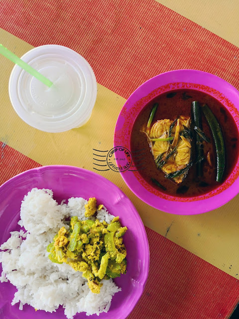 Delicious Fish Head Curry @ Eryna Cafe Curry Claypot, Balik Pulau
