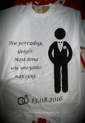 Ślubne koszulki