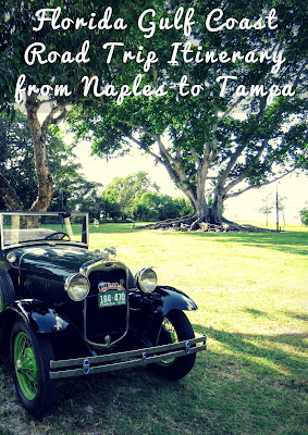 Pinterest Pin: A Florida Gulf Coast Road Trip Itinerary from Naples to Tampa