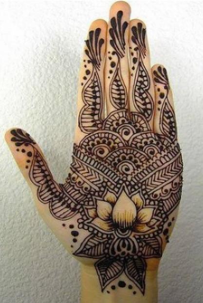 Henna Flower Designs Meanings Henna Tattoos