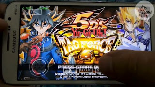 Yu Gi Oh 5D's Tag Force 6 English Patched PSP ISO Android Terbaru