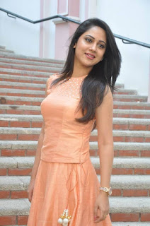 Actress Miya George Stills at United Kireeti Movies Ltd Production No 8 Movie Opening 0013.jpg