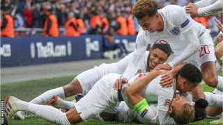 """England have waited more than a decade to provide the """"new"""" Wembley with a game, a victory and an occasion that would live indelibly in the memory bank - but Gareth Southgate's side delivered it against Croatia."""