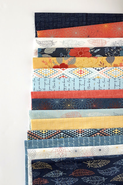 Dream Weaver Fabric by Amanda Castor and Riley Blake Designs - found on A Bright Corner blog