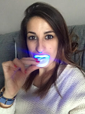 blanqueamiento dientes led