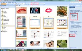 Keenam, silahkan pilih jenis kompres yang diinginkan untuk apa, disana ada beberapa pilihan kompres untuk, Don't Compress, Dokuments, Web Pages, E-mail messages. Jika gambar itu untuk di posting/diupload pada halaman blogger silahkan pilih/klik Web pages, dan klik OK (Web pages >>> OK), lihat gambar yang dilingkari.