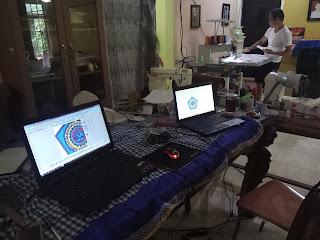 Mesin bordir komputer,di soe,timor tengah selatan,nusa tenggara timur,pelatihan desain,tehnik bordir,