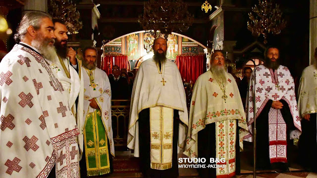 Ιερά αγρυπνία στην Ευαγγελίστρια Ναυπλίου  από τον Ιεροκήρυκα της Αρχιεπισκοπής Αθηνών π. Χρυσόστομο Κουλουριώτη