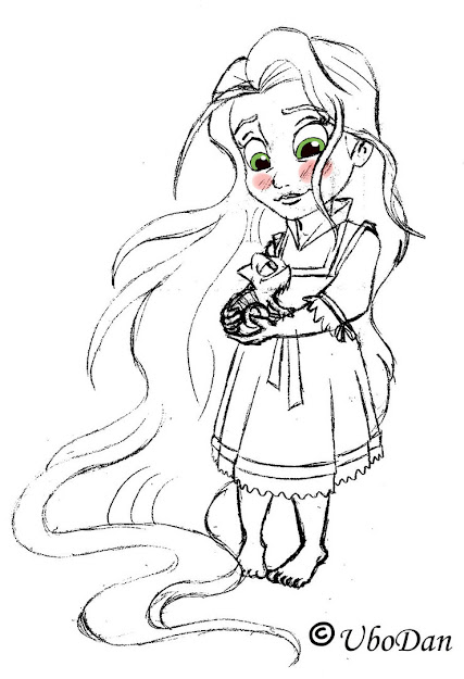 Baby Disney Princess Coloring Pages On Cartoons With All Disney Princesses  Coloring Pages