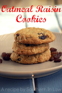 Healthy Oatmeal Raisin Cookies Recipe Gluten Free