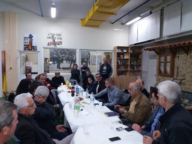 Συνάντηση σωματείων της ΠΟΕ στη Θεσσαλονίκη για την εκδήλωση Μνήμης της Γενοκτονίας