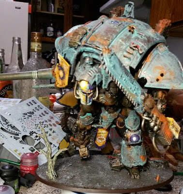 Ser Godwin Mortimer, Warhammer 40,000 Imperial Knights Questor Imperialis Army