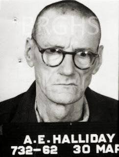 Prisoner Arthur 'Slim' Halliday, Boggo Road Gaol, Brisbane