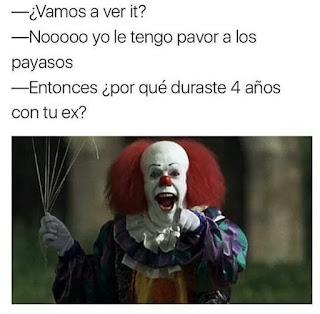 Humor chiste Payaso It