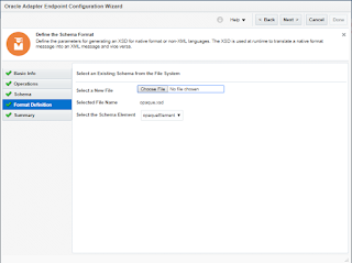 Ankur's blog: Poll File from Agent server leveraging File Adapter