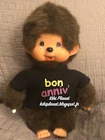 Kiki Ajena T-shirt Bon Anniv' - Yeux Marrons