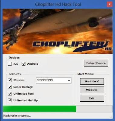 Choplifter HD Hack