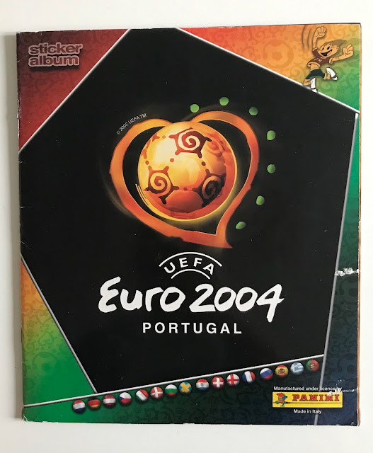 Album Panini Euro 2004