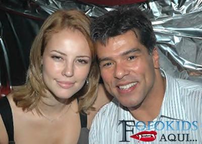 ex casal Paola Oliveira e Maurício Matar