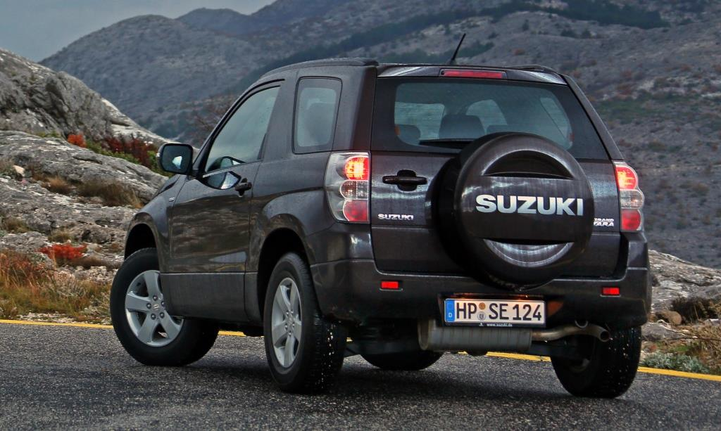Lanzamiento: Suzuki Grand Vitara 2.4 JX 4WD 3 puertas : Autoblog Uruguay | Autoblog.com.uy
