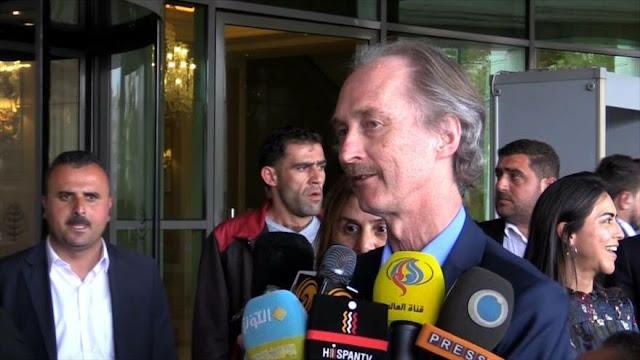 Enviado especial de la ONU para Siria llega a Damasco
