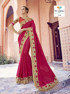 Ahilya Triveni SAREES WHOLESALER LOWEST PRICE SURAT GUJARAT