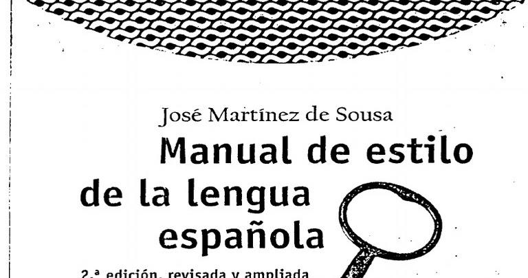 Manual de estilo de la lengua española (2.ª ed., revisada