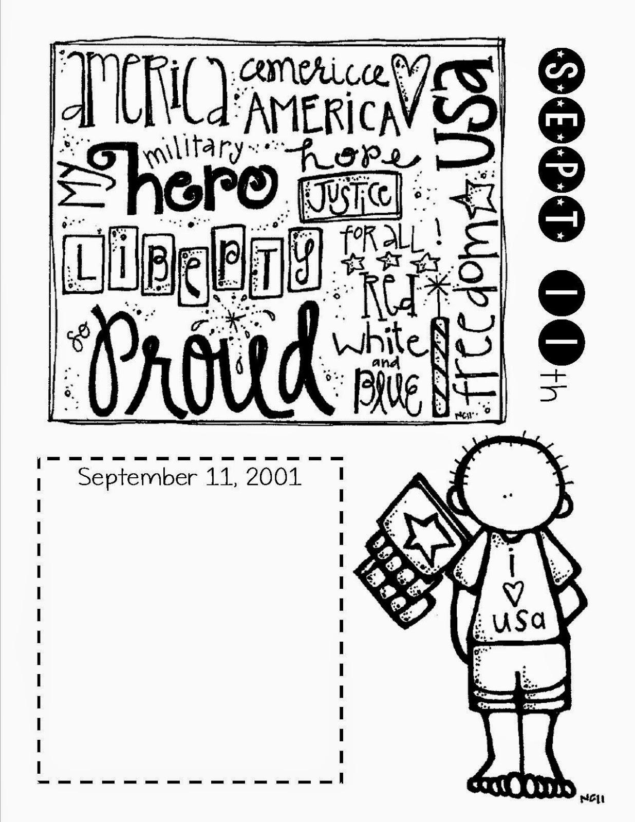 Lory S 2nd Grade Skills Remembering 9 11