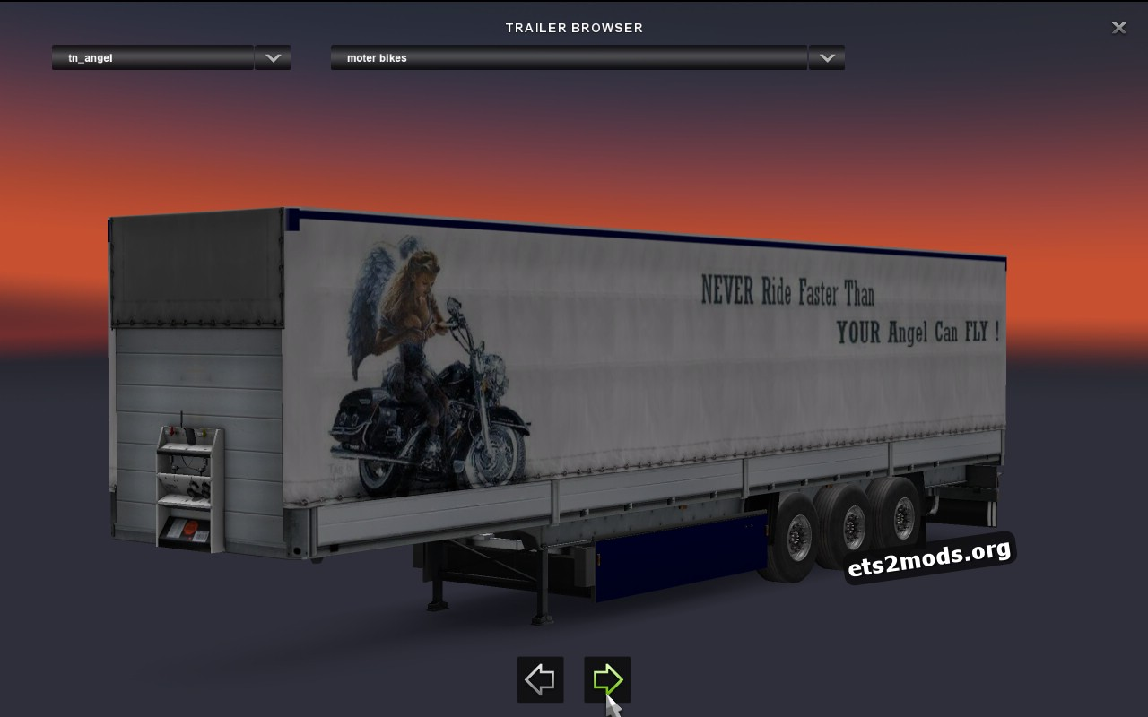 Schmitz Motorbike Trailer