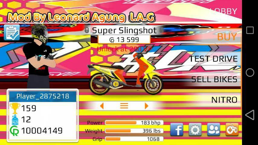 drag racing apk mod unlimited money and rp