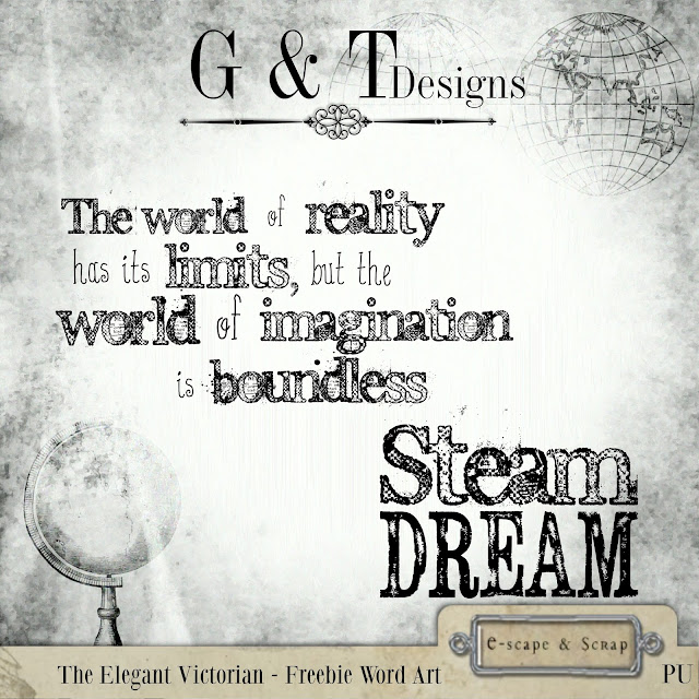 G&T Designs - The Elegant Victorian (re-release) & Freebie