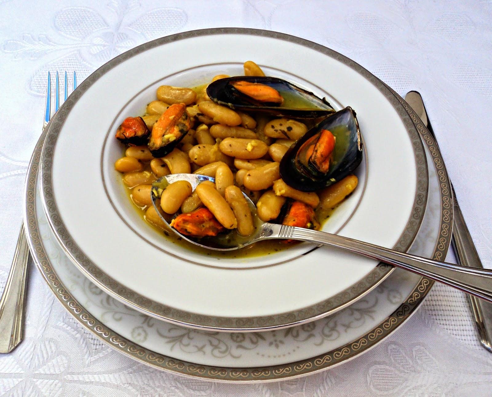 fabas-mejillones-azafran-cookeo