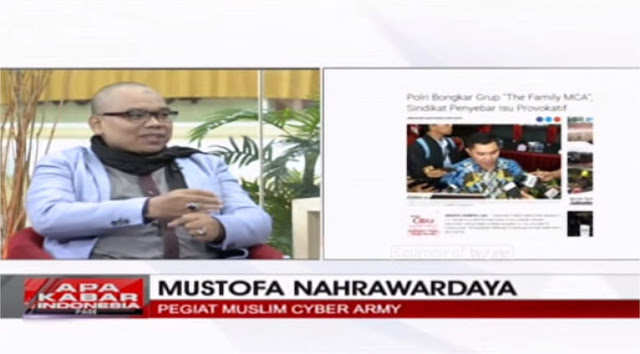 Mustofa Nahra Ungkap MCA yang Sebenarnya