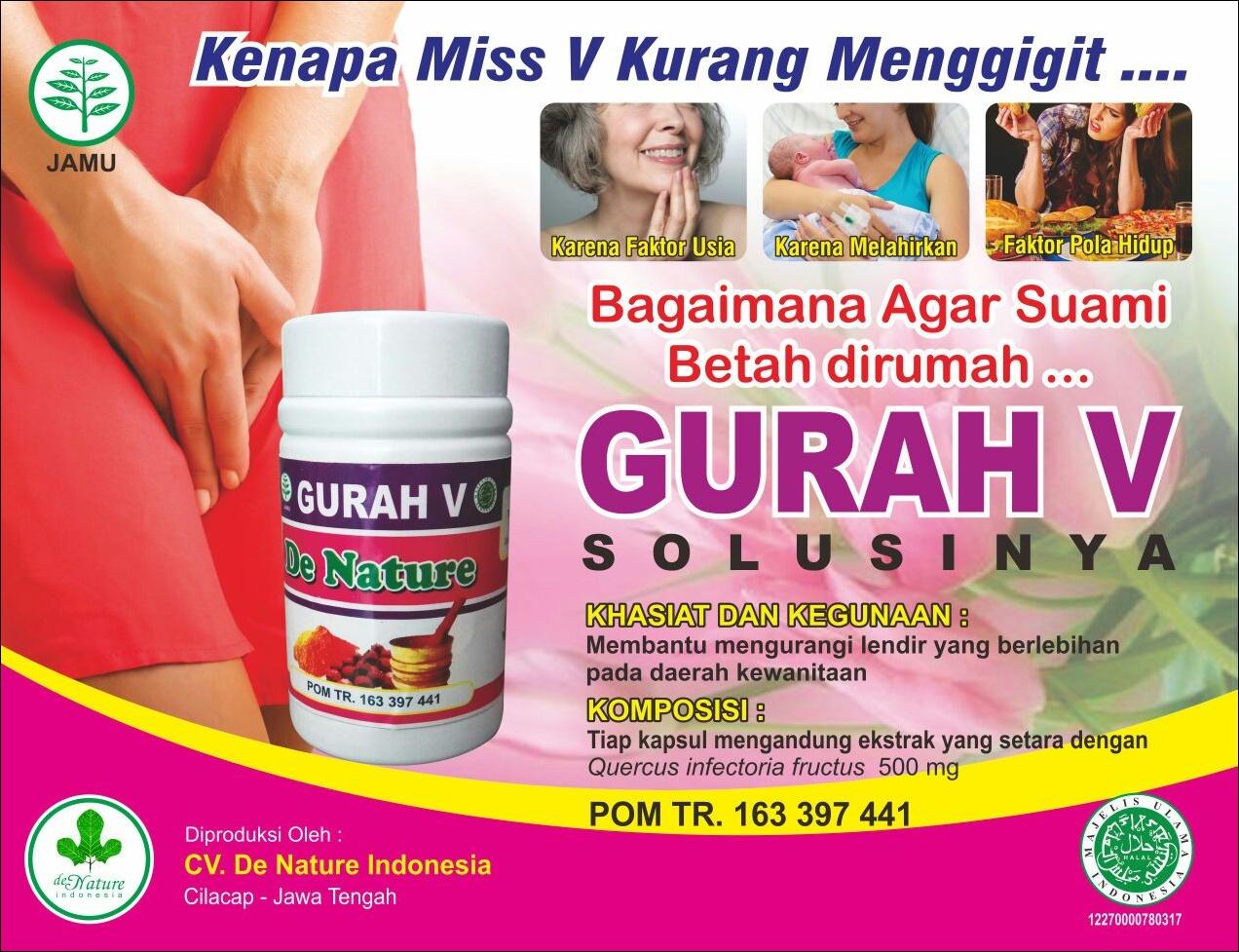 Jual Kapsul Gurah V Untuk Penyempit Vagina Di Klungkung. 082326813507